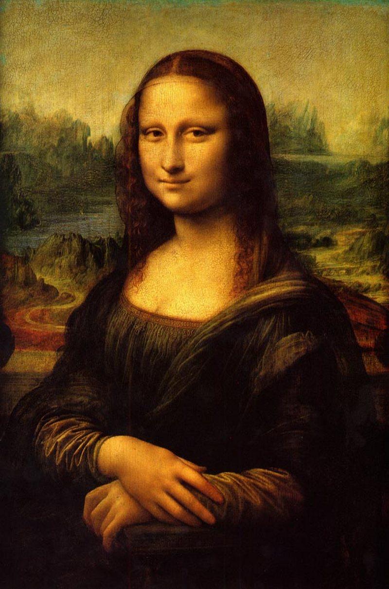 20) Мона Лиза. Ни одна из коллекций портретов не будет считаться полной без этой картины. К сожалению, не осталось ничего в этой картине такого, о чем бы не было сказано раньше, поэтому если вы хотите знать больше отправляйтесь в Википедию. Дата: 1503-1506. Художник: Леонардо Да Винчи.