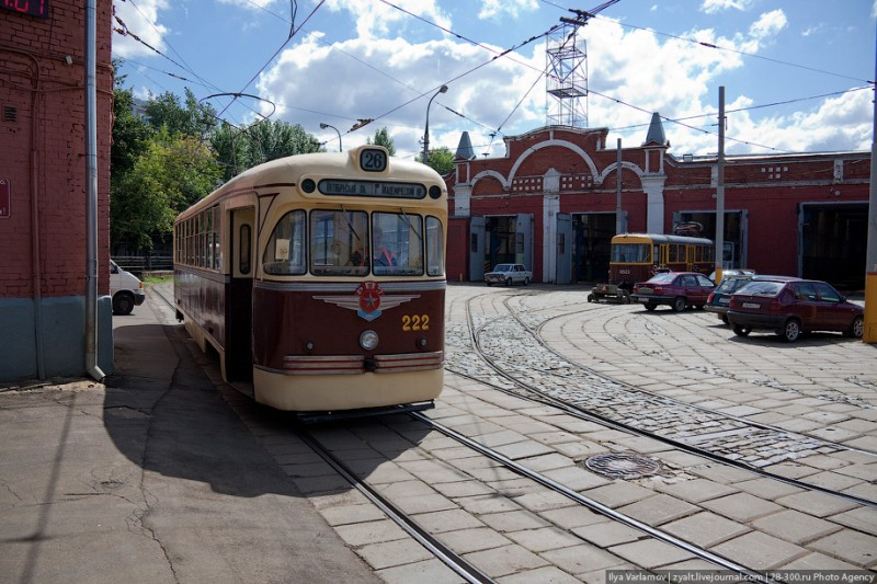 Трамвайное депо имени Русакова