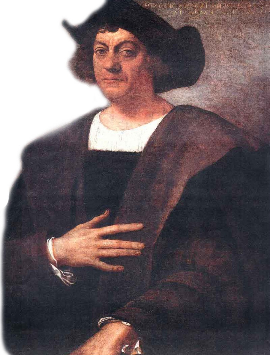 23) Христофор Колумб. Генуэзский мореплаватель, колонизатор и исследователь. Его морские путешествия по атлантическому океану спонсировались испанской королевой Изабеллой, благодаря им и был открыт континент Америка в Западном полушарии Земли.