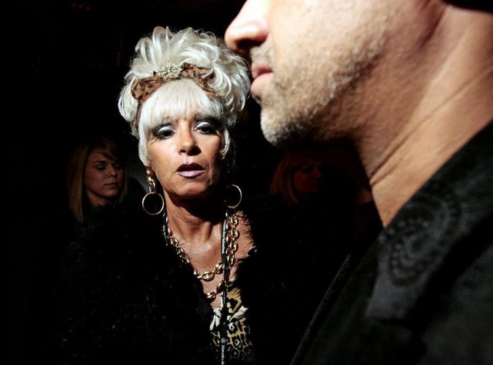 24) За кулисами модного показа Аби Феррин 12 сентября.