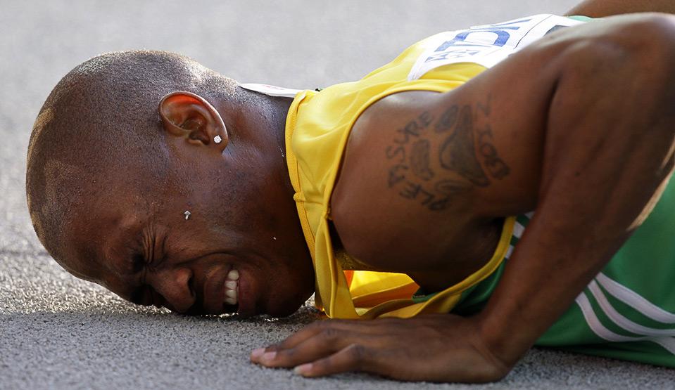 Симон Магакве стал первым южноафриканцем, пробежавшим 100 м быстрее десяти секунд