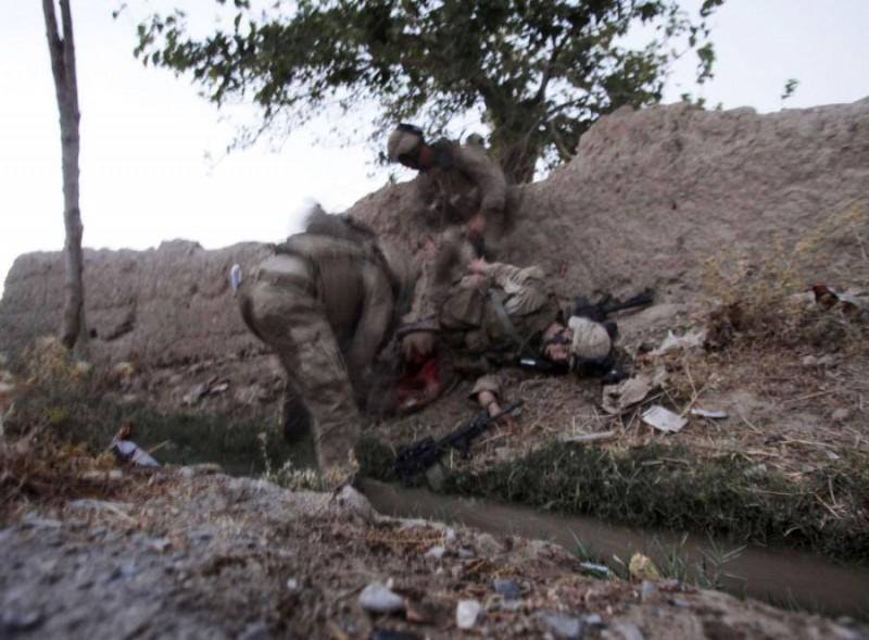 Смерть морпеха в Афганистане