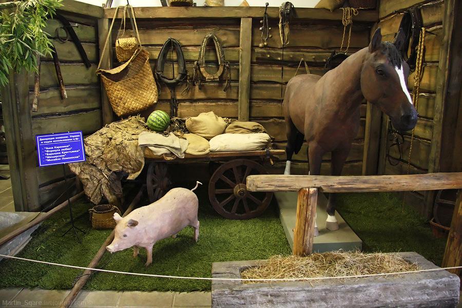 6) Такими свиньями и лошадьми заменяют настоящих.
