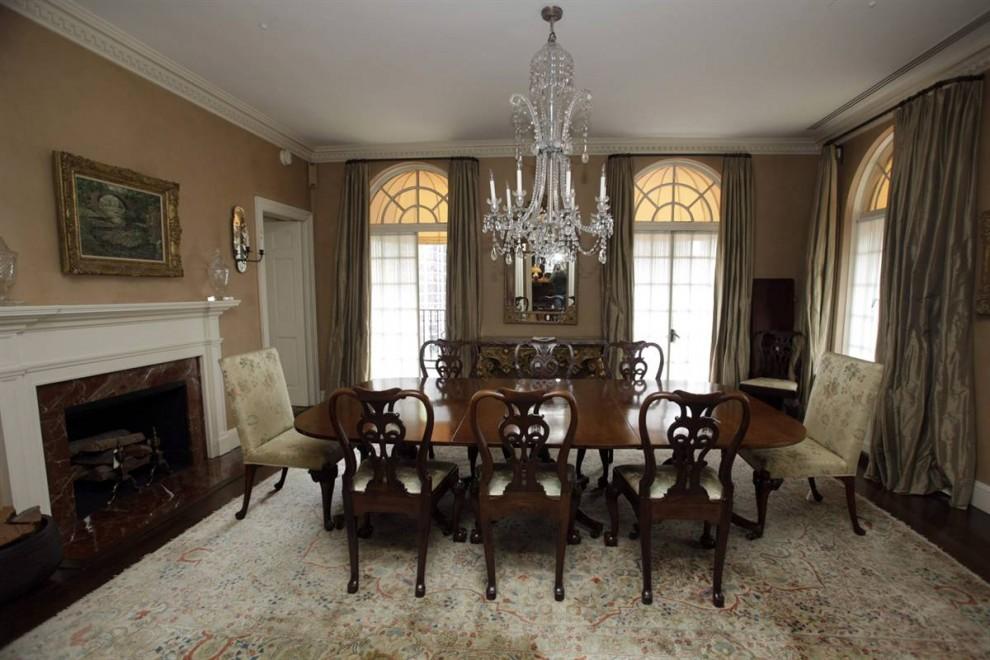 4.Столовая в доме Мэдоффа по площади будет даже больше некоторых 1-комнатных квартир в Нью-Йорке.