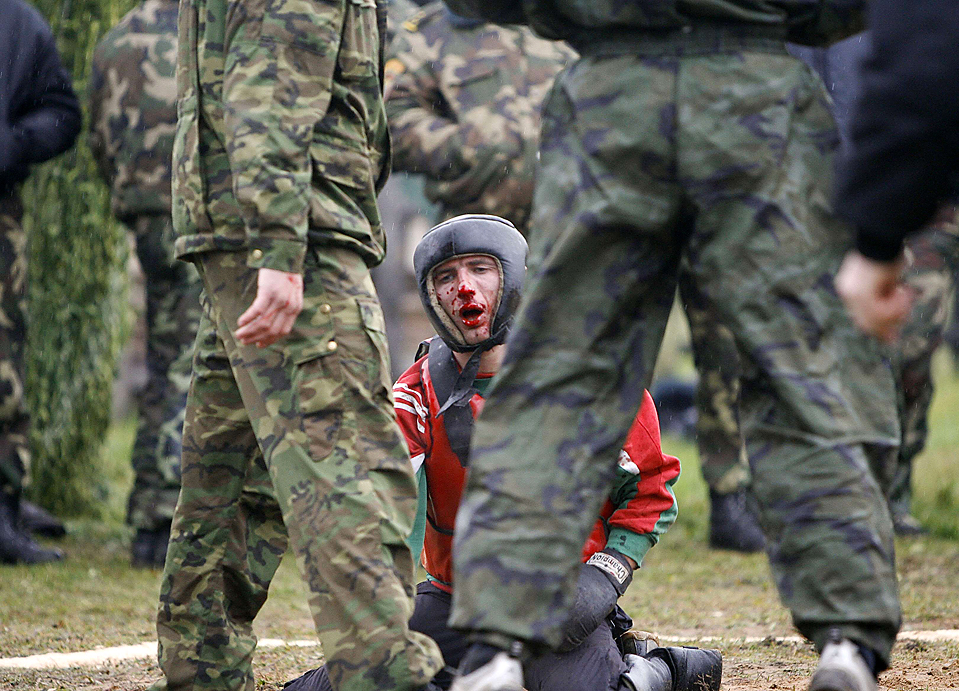 варочная вид спецназовца после боя фото результат можно