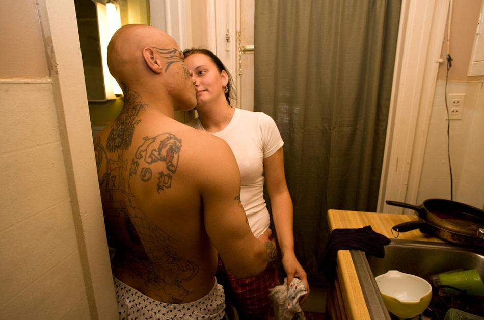 6) 18-летняя Кайла со своим бойфрендом.