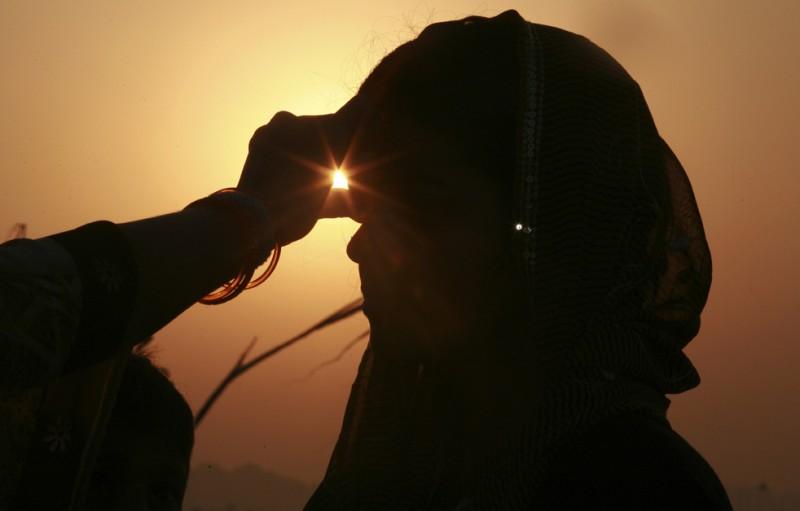 Сурья Пуджа — поклонение солнцу