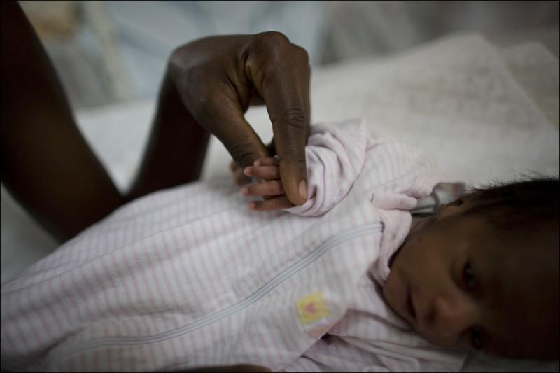 Родильное отделение на Гаити