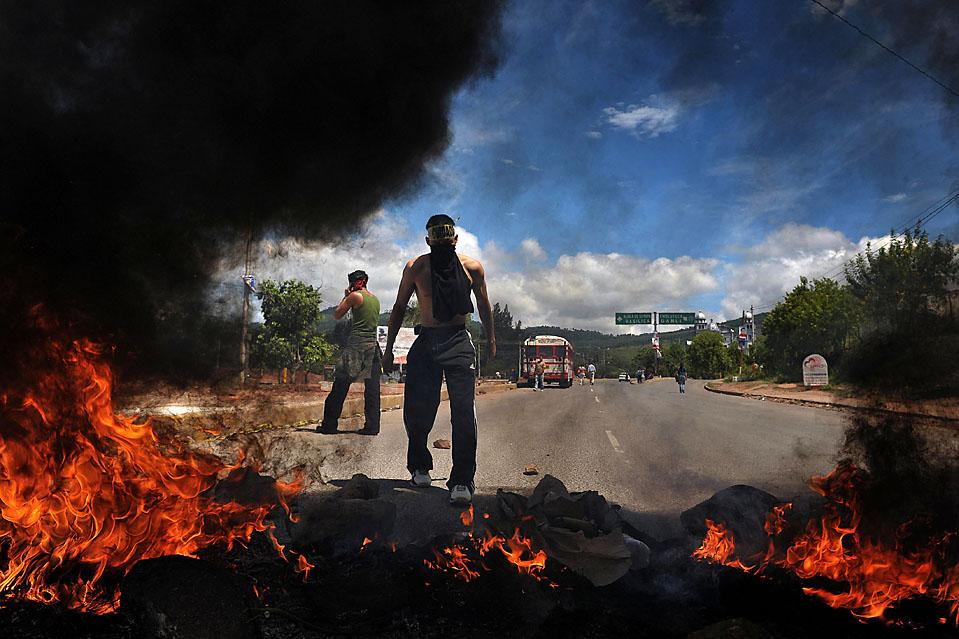 TOPSHOTS-HONDURAS-COUP-DEMONSTRATION