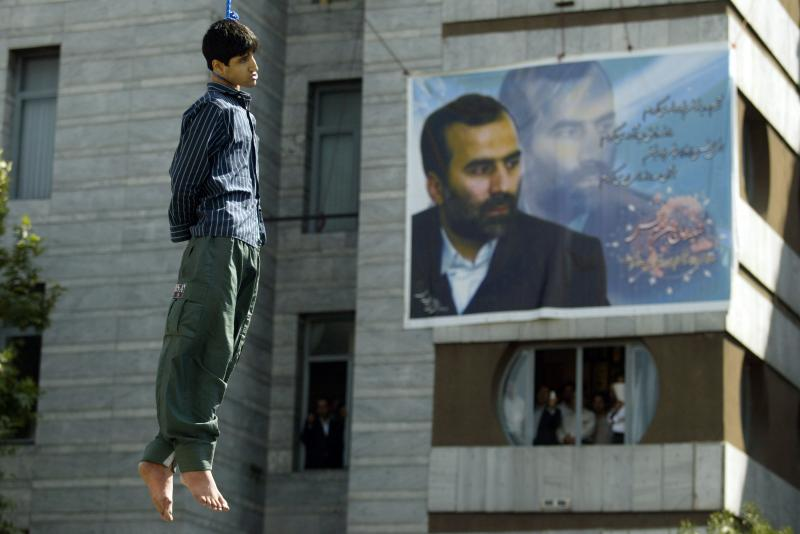 0211 Публичная казнь в Иране
