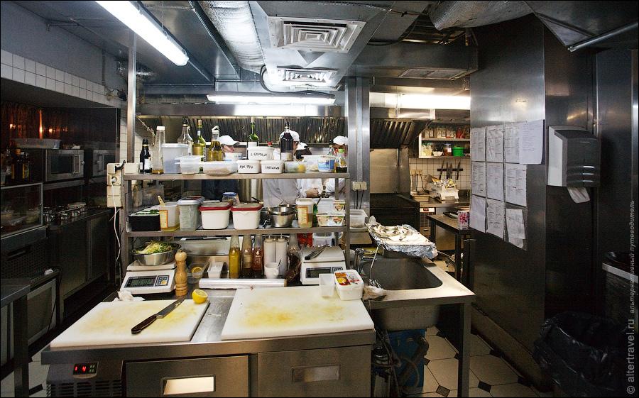 3) Так было на кухне кафе Мишель, что находится на Красной Пресне.