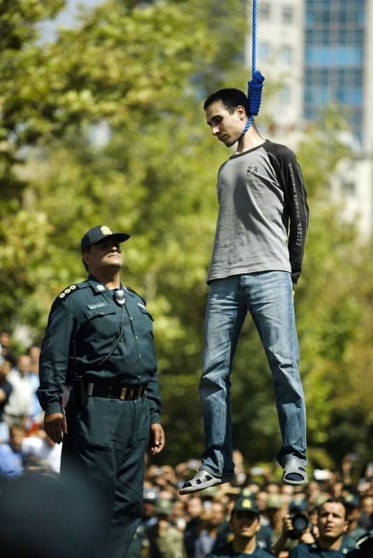 0411 Публичная казнь в Иране