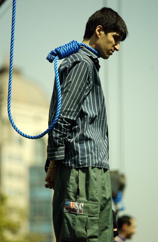 0511 Публичная казнь в Иране
