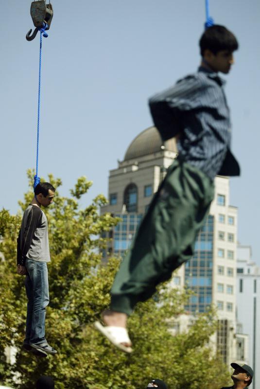 0611 Публичная казнь в Иране