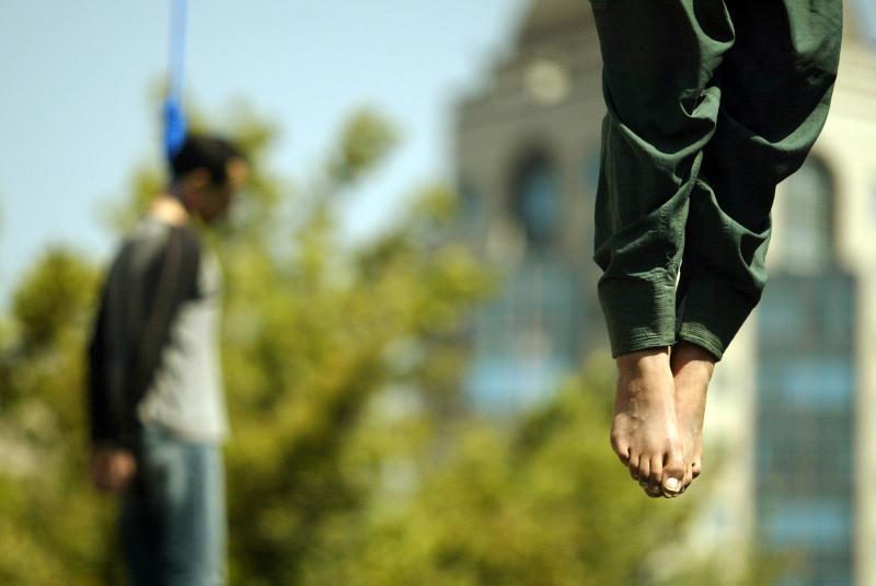 0711 Публичная казнь в Иране