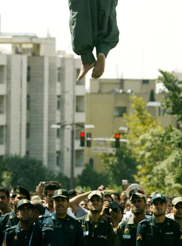 1013 Публичная казнь в Иране