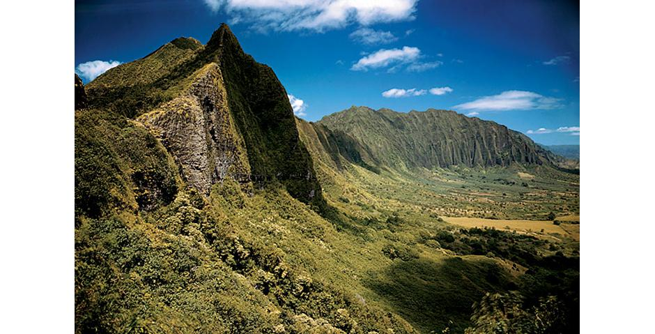 11) Скалы Пали, Оаху, Гавайи, 1948