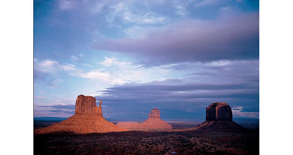 10) Национальный Парк Долина Монументов, штат Юта, 1950