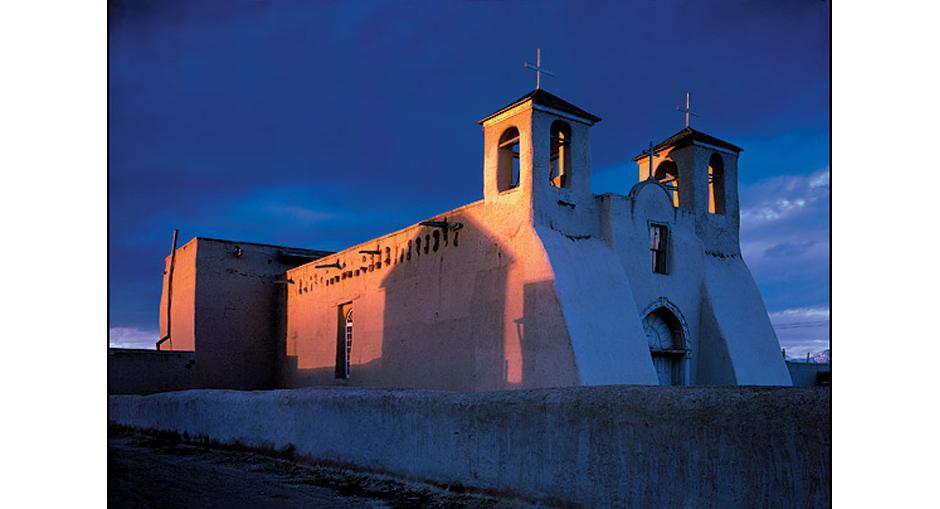 5) Ранчо де Таос, штат Нью-Мексико, 1948