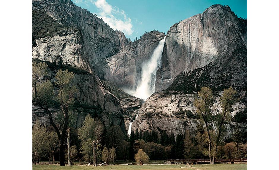 13) Йосемитские водопады в Йосемитском национальном парке, 1953