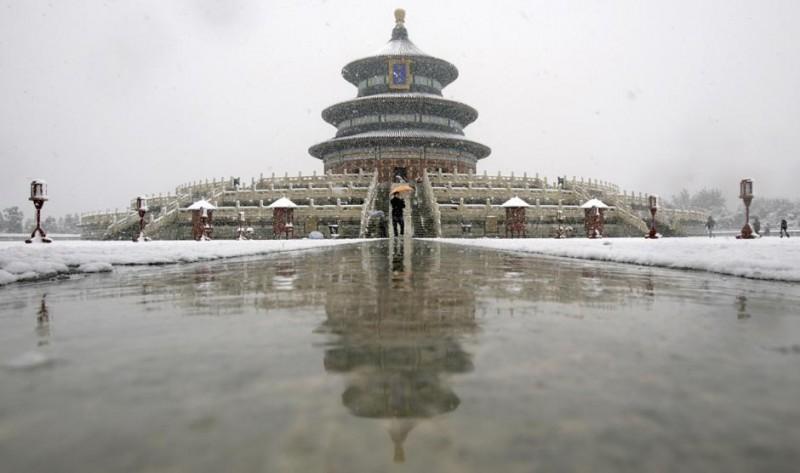 Зимняя сказка в Пекине