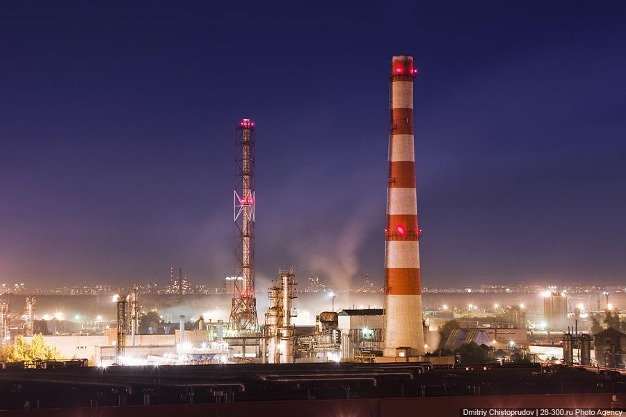 московский нефте- перерабатывающий завод: