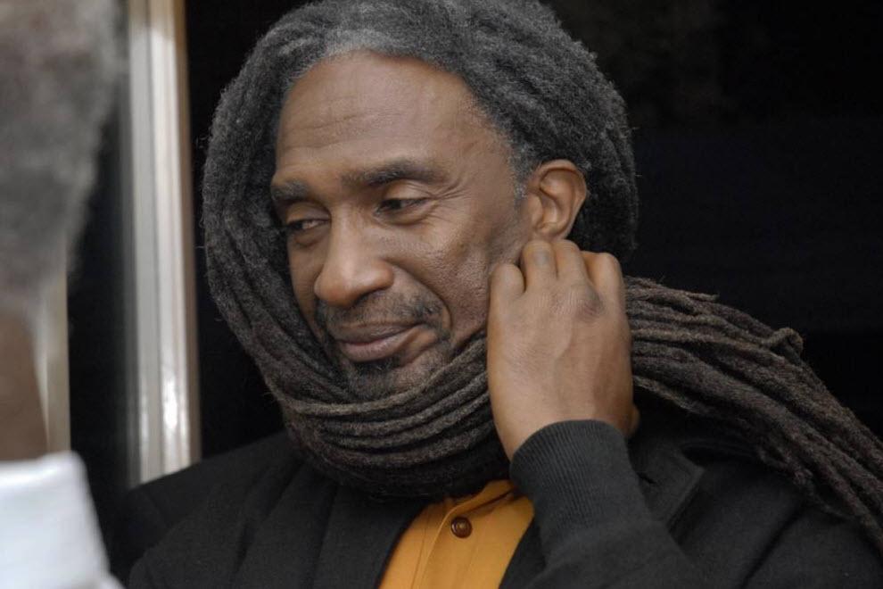 """26.  Karena jenisnya gimbal melambangkan akar manusia dan hubungan spiritual dengan Tuhan Jah.  Dalam kata-kata Marcus Garvey: """"Orang yang tidak tahu masa lalunya, seperti pohon tanpa akar.""""  Gimbal juga melambangkan Singa Haile Selassie yang pertama."""
