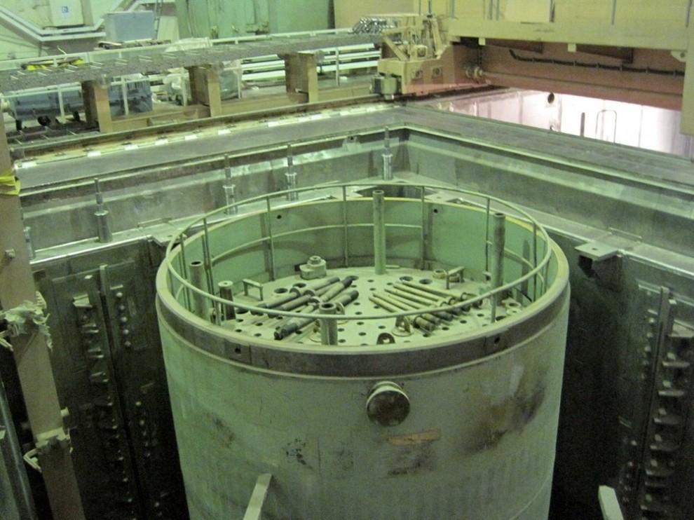 4) Вид на атомную электростанцию в Бушире изнутри. (REUTERS/Vladimir Soldatkin (IRAN POLITICS ENERGY))