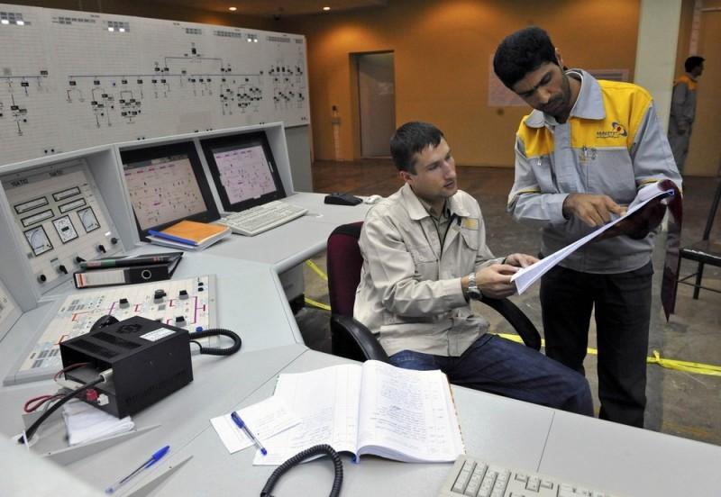 Иранская атомная электростанция