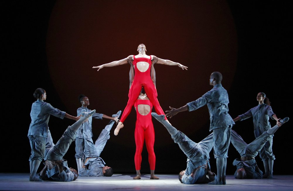 0032syk7 Американский театр танца Элвина Эйли.  Танцевальная труппа Alvin Ailey American Dance Theater.