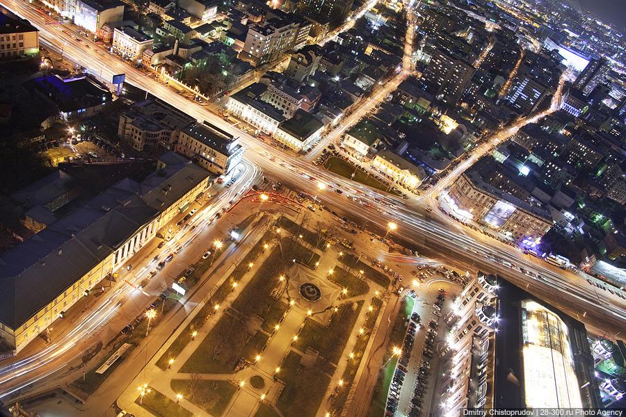 1) Кудринская площадь.