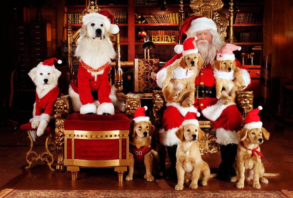 2. «Такие разные Санта Клаусы» (2009) – четвертая часть серии «Принцы воздуха». (Walt Disney Pictures)