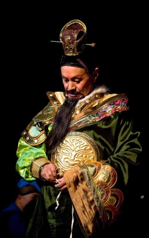 14) Цзя Чжэнь Гуд в образе Императора. (Marco Secchi/Getty Images)