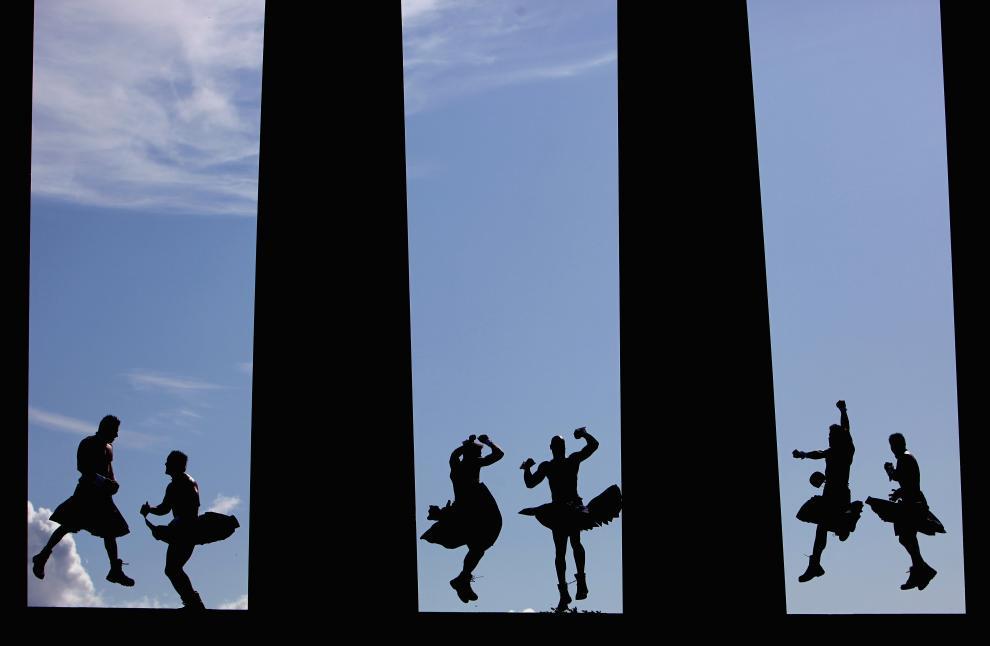 6) Самое прославленное шоу мужского стриптиза из Америки – Chippendales - во время гастролей в Шотландии. (Jeff J Mitchell/Getty Images News/ fotobank.ua / 6 августа 2009/ Шотландия, Эдинбург)