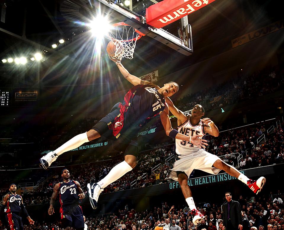 APTOPIX Nets Cavaliers Basketball