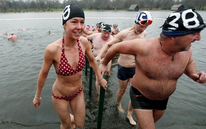 13) Счастливые лица согревают душу. (REUTERS/Andrew Winning)