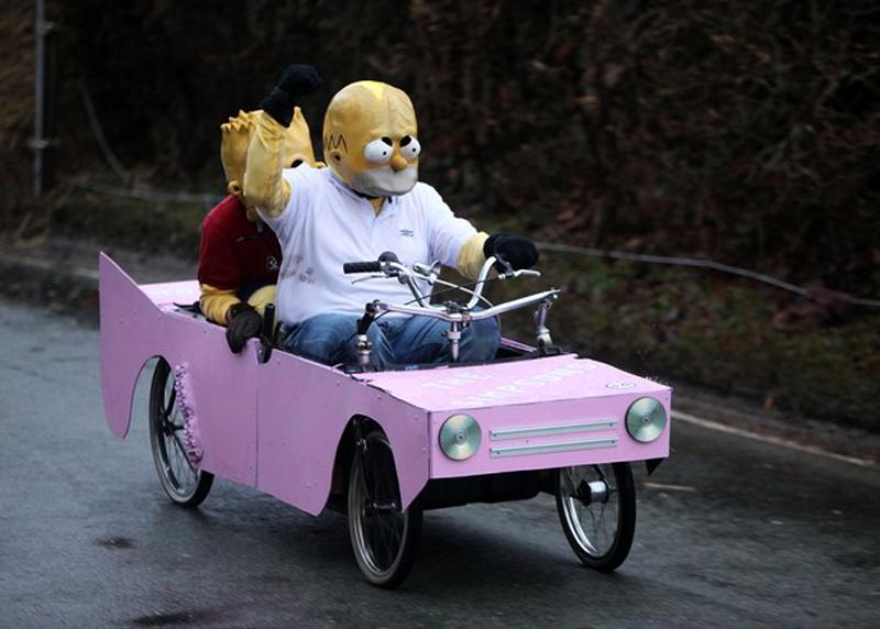 Soapbox гонка в Стаффордшире