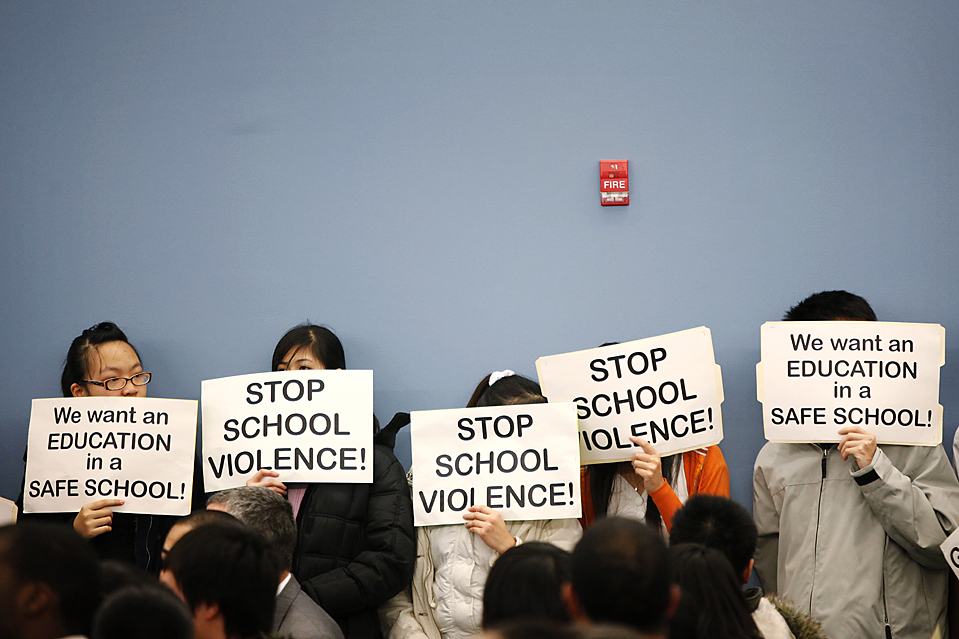high school violence essay School shootings essay examples the rampant violence in middle and high schools across the 2 pages effects on school violence on.