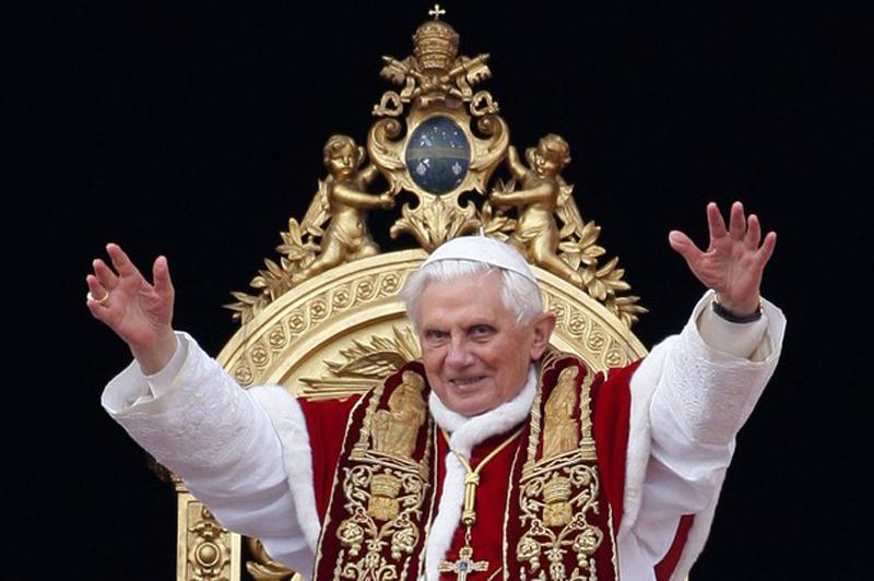 Нападение на Папу Римского в сочельник