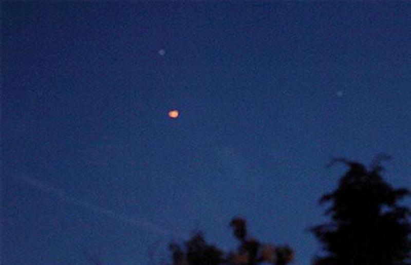 2) Шарообразные НЛО видели над Merseyside в Ливерпуле.