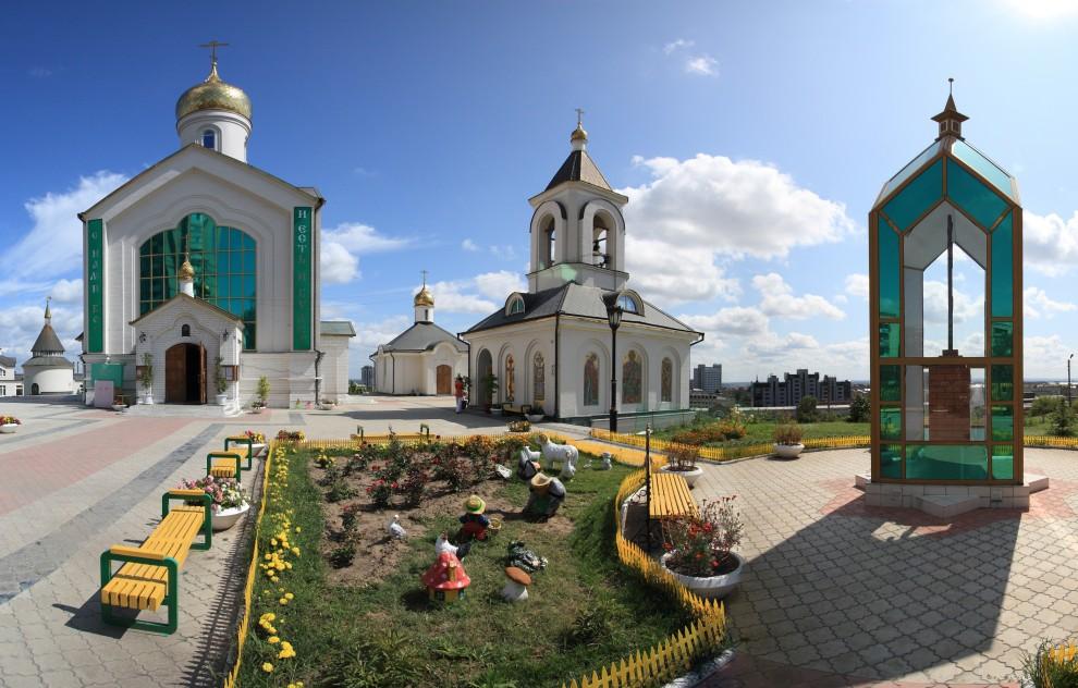 15) Храм во Имя Преподобного Сергия Радонежского