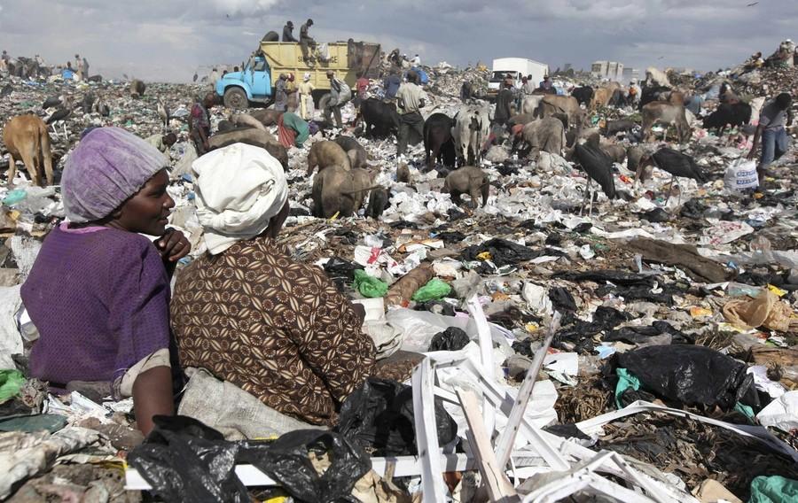 мусорная свалка в африке фото его инстаграм
