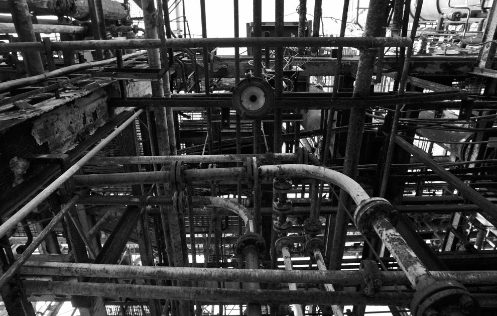 5. Заброшенные механизмы химического завода «Union Carbide» 21 ноября 2009 года. (AP Photo/Saurabh Das)