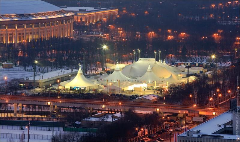 Виды Москвы с высоты 22 этажа РАН