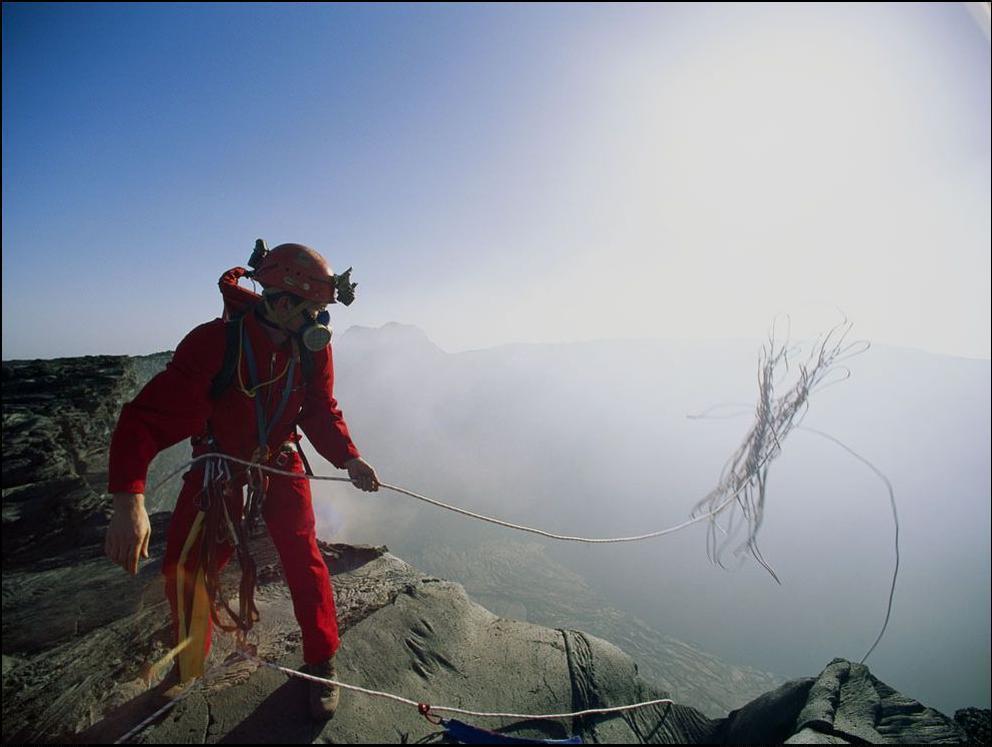 3) Жерло вулкана Эртейл, Эфиопия.