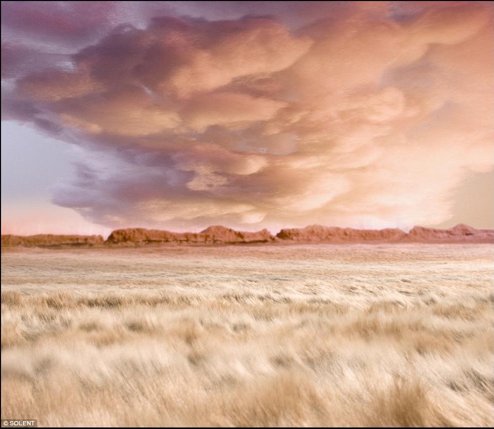 частности, его картина ветер на равнине когда вижу нож