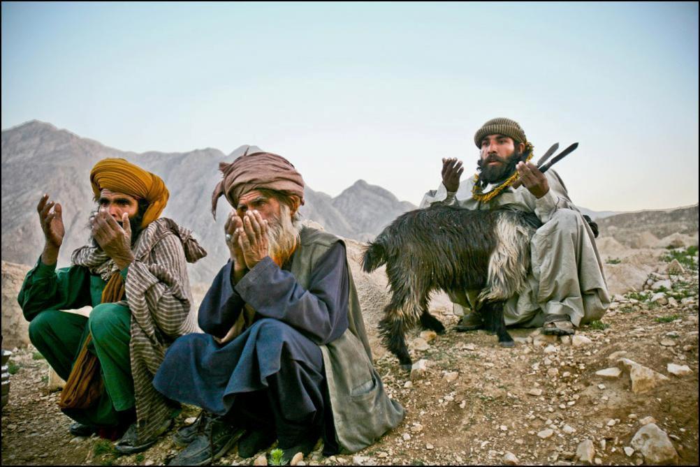 3) Белуджи готовятся резать козлов. Козлы главное богатство в бедном Белуджистане.