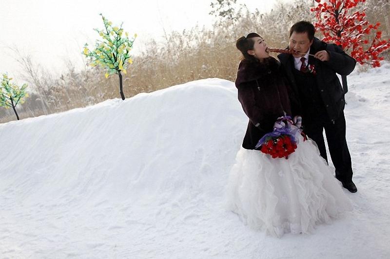 Массовая свадьба в Харбине