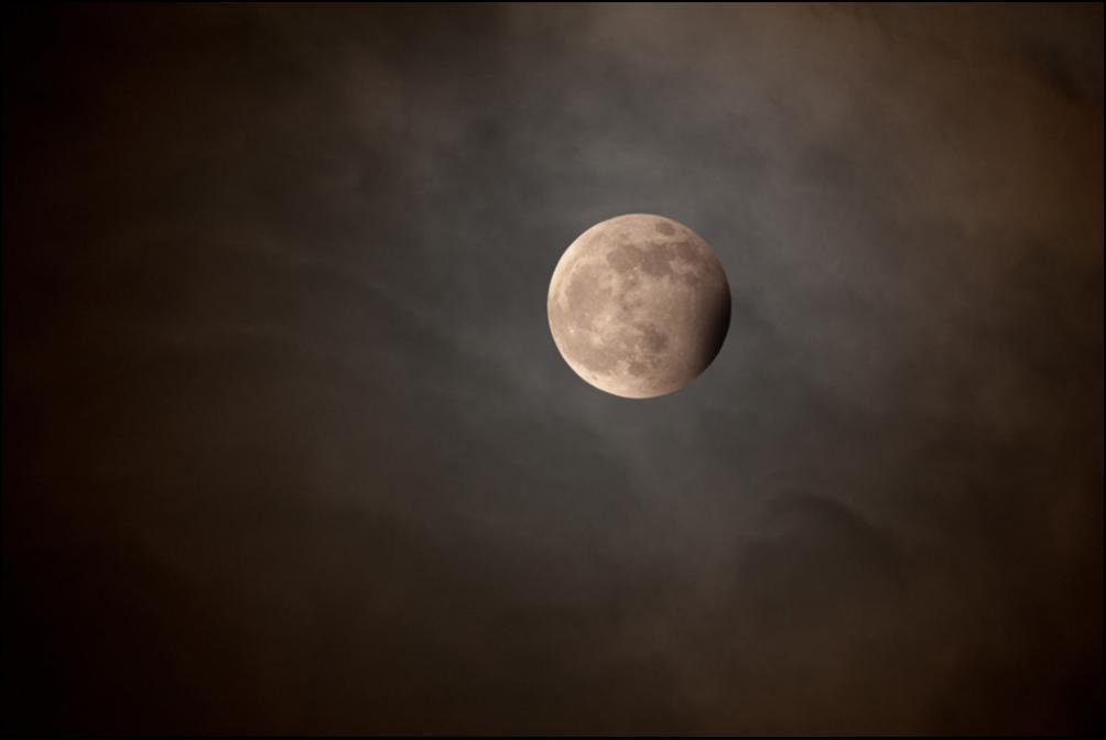 5) Затмение голубой луны.