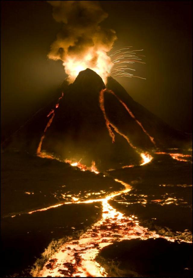 6) Вулкан.